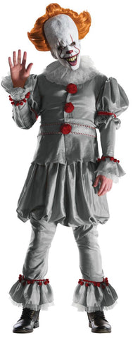 Mens Pennywise IT Costume - Grand Heritage Collection