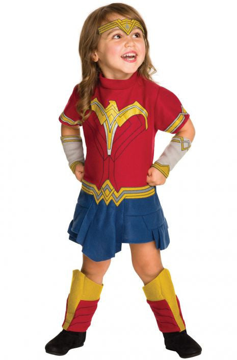 Toddlers Wonder Woman Costume - HalloweenCostumes4U.com - Kids Costumes