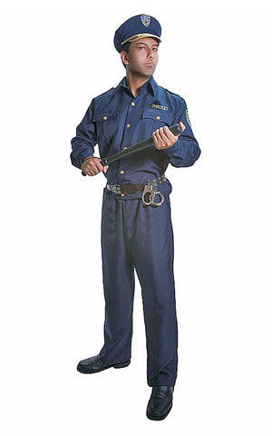 Adults Police Officer Costume - HalloweenCostumes4U.com - Adult Costumes