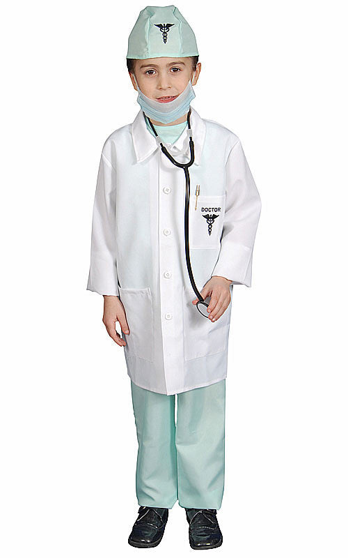 Kids/Toddlers Deluxe Doctor Costume - HalloweenCostumes4U.com - Kids Costumes