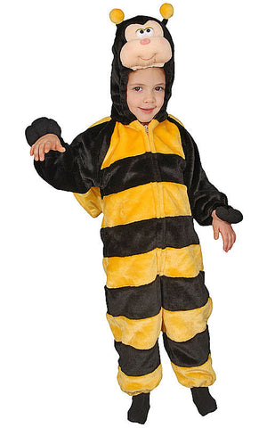 Kids Plush Bumble Bee Costume - HalloweenCostumes4U.com - Kids Costumes