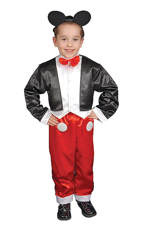 Boys Deluxe Mr. Mouse Costume