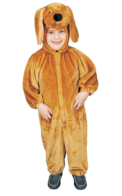 Kids/Toddlers Brown Puppy Costume - HalloweenCostumes4U.com - Kids Costumes