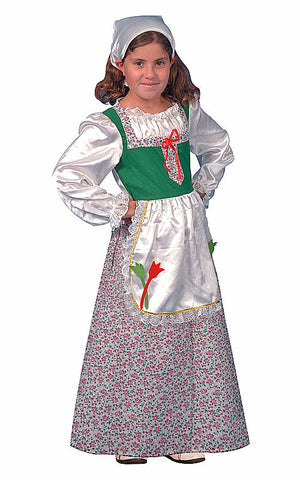 Girls Dutch Dress Costume - HalloweenCostumes4U.com - Kids Costumes
