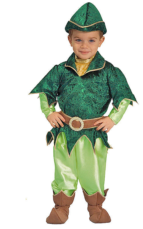 Boys Deluxe Peter Pan Costume - HalloweenCostumes4U.com - Kids Costumes