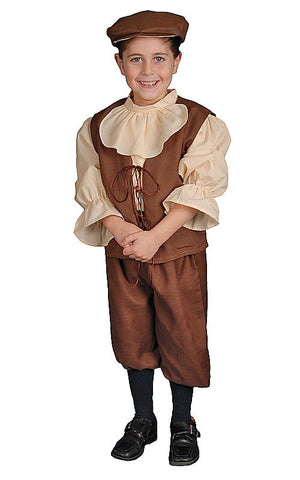 Boys Colonial Costume - HalloweenCostumes4U.com - Kids Costumes