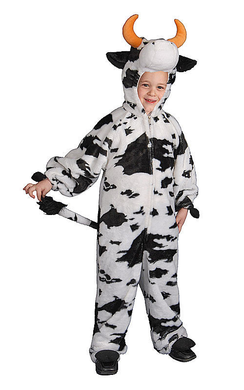 Kids/Toddlers Plush Cow Costume - HalloweenCostumes4U.com - Kids Costumes