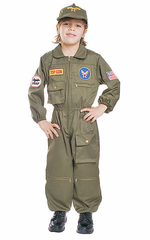 Boys Air Force Pilot Costume - HalloweenCostumes4U.com - Kids Costumes