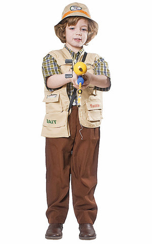 Kids/Toddlers Fisherman Costume - HalloweenCostumes4U.com - Kids Costumes