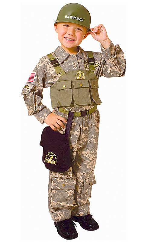 Boys Navy SEAL Special Forces Costume - HalloweenCostumes4U.com - Kids Costumes