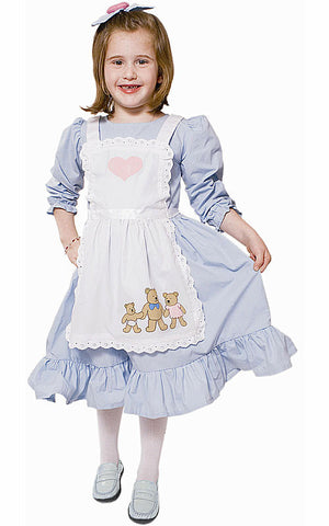 Girls Goldilocks Fairytale Costume - HalloweenCostumes4U.com - Kids Costumes
