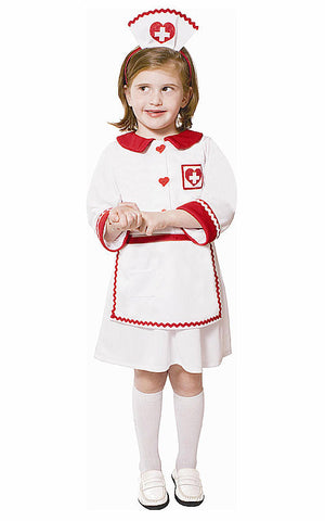 Girls Red Cross Nurse Costume - HalloweenCostumes4U.com - Kids Costumes
