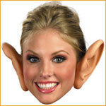 Giant Ears Halloween Costume Jumbo Ears - HalloweenCostumes4U.com - Accessories