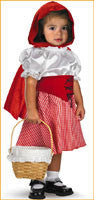 Baby's Red Riding Hood Costumes 12-18 Months - HalloweenCostumes4U.com - Infant & Toddler Costumes