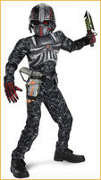 Army Commando Childs Costume w/Muscles - HalloweenCostumes4U.com - Kids Costumes