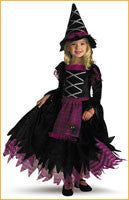 Toddler's Halloween Costumes Fancy Witch - HalloweenCostumes4U.com - Infant & Toddler Costumes
