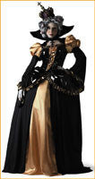 Scary Renaissance Queen Costume Adult - HalloweenCostumes4U.com - Adult Costumes