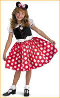 Girl's Minnie Mouse Classic Costume - HalloweenCostumes4U.com - Kids Costumes