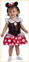 Infants Costumes Minnie Mouse 12-18 Months - HalloweenCostumes4U.com - Infant & Toddler Costumes