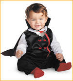 Vampire Halloween Costumes for Baby - HalloweenCostumes4U.com - Infant & Toddler Costumes