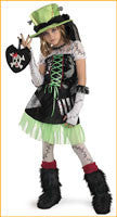 Girl's Monster Bride Deluxe Kids Costume - HalloweenCostumes4U.com - Kids Costumes