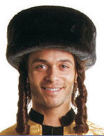 Short Jewish Shtreimel - Various Colors - HalloweenCostumes4U.com - Accessories