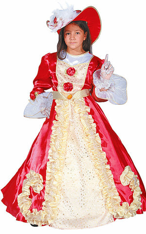 Girls Noble Lady Costume - HalloweenCostumes4U.com - Kids Costumes