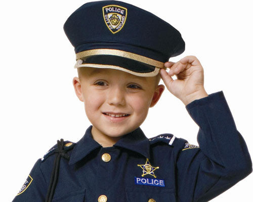 Police Hat - HalloweenCostumes4U.com - Accessories