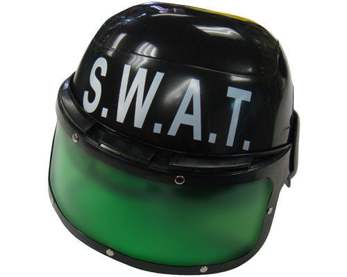 Kids SWAT Police Helmet - HalloweenCostumes4U.com - Accessories