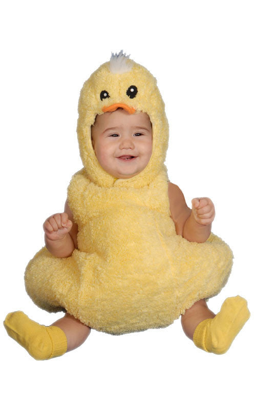 Infants/Toddlers Fuzzy Duckling Costume - HalloweenCostumes4U.com - Infant & Toddler Costumes