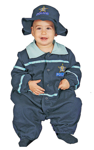 Infants/Toddlers Police Officer Costume - HalloweenCostumes4U.com - Infant & Toddler Costumes - 1
