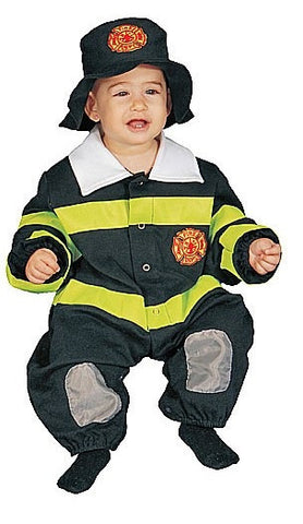 Infants/Toddlers Fire Fighter Costume - HalloweenCostumes4U.com - Infant & Toddler Costumes - 1