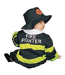 Infants/Toddlers Fire Fighter Costume - HalloweenCostumes4U.com - Infant & Toddler Costumes - 2