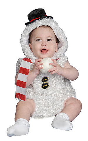Infants/Toddlers Snow Man Costume - HalloweenCostumes4U.com - Infant & Toddler Costumes