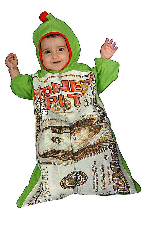 Infants Money Pit Costume - HalloweenCostumes4U.com - Infant & Toddler Costumes