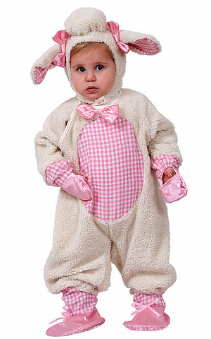 Girls Grazing Lamb Costume - HalloweenCostumes4U.com - Kids Costumes