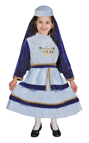 Girls Hebrew Matriarch Rachel Costume - HalloweenCostumes4U.com - Kids Costumes