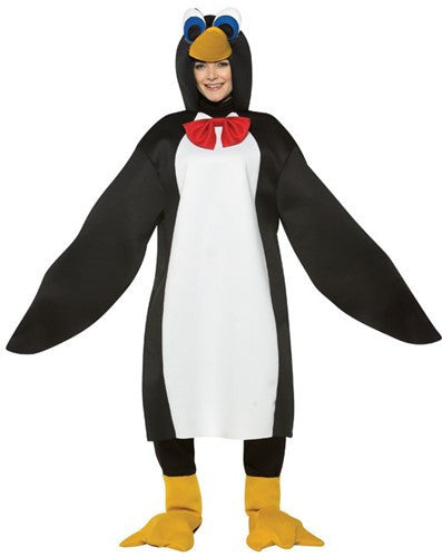 Adults Deluxe Penguin Costume - HalloweenCostumes4U.com - Adult Costumes