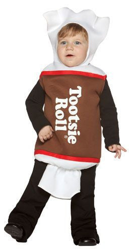 Infants/Toddlers Tootsie Roll Costume - HalloweenCostumes4U.com - Infant & Toddler Costumes