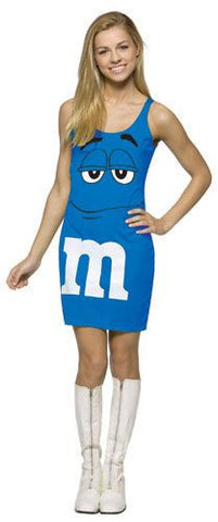 Teens Blue M&Ms Tank Dress - HalloweenCostumes4U.com - Adult Costumes