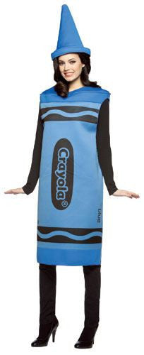Adults Blue Crayola Crayon Costume - HalloweenCostumes4U.com - Adult Costumes