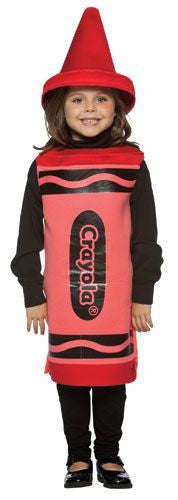 Kids Red Crayola Crayon Costume - HalloweenCostumes4U.com - Kids Costumes - 2