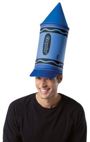 Blue Crayola Crayon Hat - HalloweenCostumes4U.com - Accessories