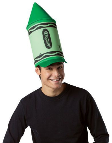 Green Crayola Crayon Hat - HalloweenCostumes4U.com - Accessories