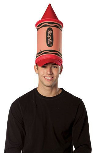 Red Crayola Crayon Hat - HalloweenCostumes4U.com - Accessories