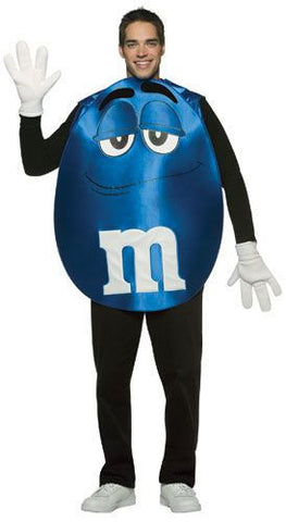Adults Blue M&Ms Costume - HalloweenCostumes4U.com - Adult Costumes