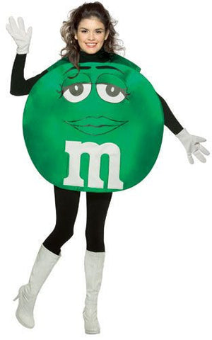 Teens Green M&Ms Costume - HalloweenCostumes4U.com - Adult Costumes
