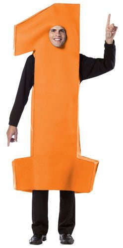 Adults Number 1 Costume - Various Colors - HalloweenCostumes4U.com - Adult Costumes - 2