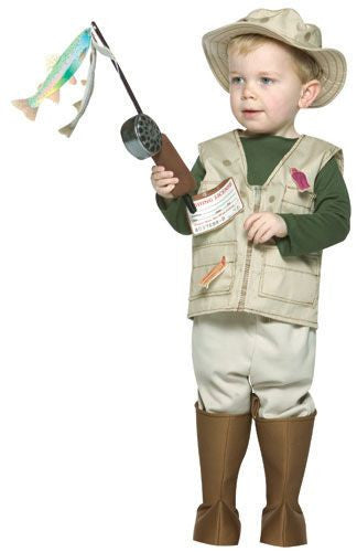 Boys Fisherman Costume - HalloweenCostumes4U.com - Kids Costumes