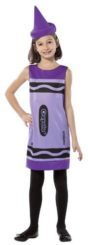 Kids Purple Crayola Crayon Costume
